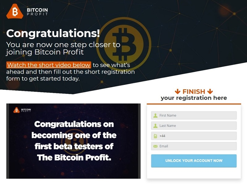 Bitcoin Profit Scam New Page